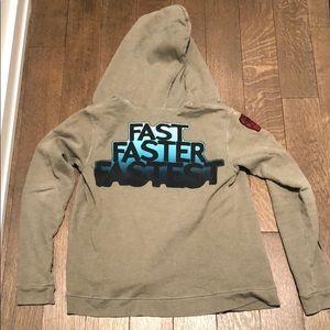 EUC freecity Zip-Up Sweatshirt